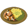 File:Breath of the Wild Food Dish (Curry) Poultry Curry (Icon).png