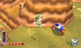 Gameplay (A Link Between Worlds)