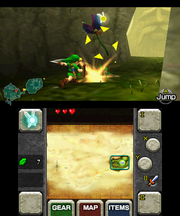 Gameplay (Ocarina of Time 3D)