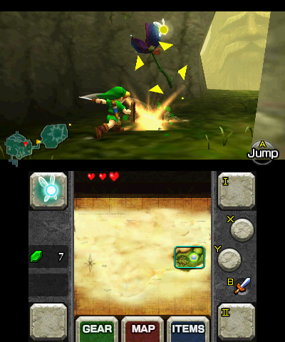 Файл:Gameplay (Ocarina of Time 3D).png