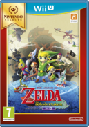 Jaquette Européenne Nintendo Selects TWWHD
