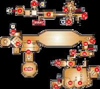 Mapa del Templo de las Sombras OoT