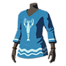 BotW Garb of Wind (The Champion' Ballad DLC) Island Lobster Shirt (Icon).png