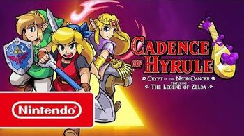 Cadence of Hyrule - Tráiler general (Nintendo Switch)