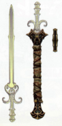 Twilight Princess Artwork Sword of the Six Sages (Concept Artwork - Hyrule Historia)