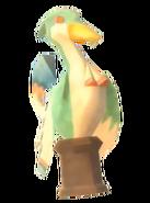 Statuette d'oiseau