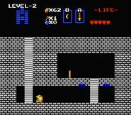 Link a punto de conseguir la Flauta TLoZ