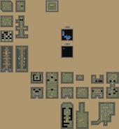 Carte Forêt de Squelettes ALttP