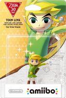 Embalaje europeo del amiibo de Toon Link (The Wind Waker) - Subserie 30 aniversario