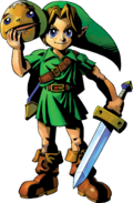 Link Artwork 1 (Majora's Mask)