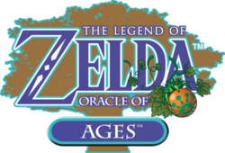 Zelda Oracle of Ages logo