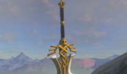 Breath of the Wild Woodland Tower Royal Claymore (Great Hyrule Forest)