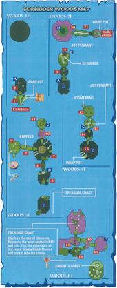 Mapa del Bosque Prohibido TWW