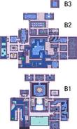 Mapa templo de las aguas