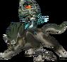Midna y Link lobo