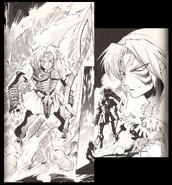Rachegott aus dem Manga