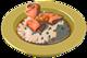 Risotto au saumon max