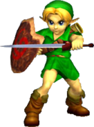 Young Link SSBM