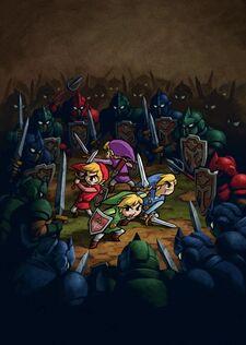 Artwork Four Swords Adventures