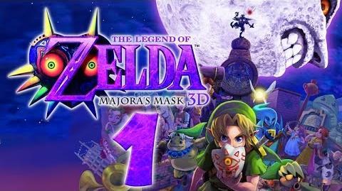 Let's Play THE LEGEND OF ZELDA MAJORAS MASK 3D Part 1- Das traurige Schicksal des Helden der Zeit