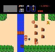 NES Zelda screenshot