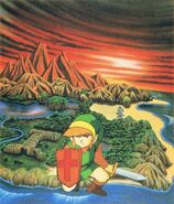 Artwork Overworld LOZ
