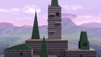 Castillo de Hyrule SSBWiiU