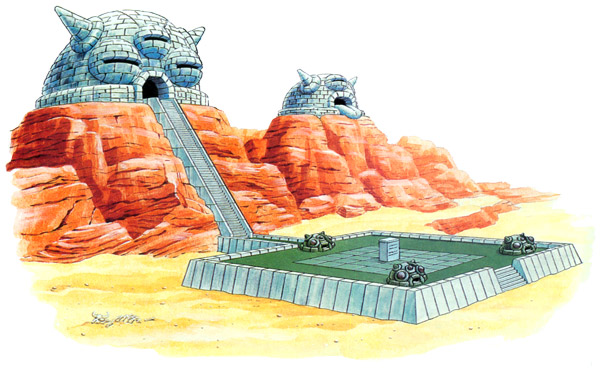 Desert palace a link to the past zeldapedia fandom powered by artwork of the desert palace aloadofball Gallery