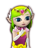 Portrait Zelda Cartoon HWL3