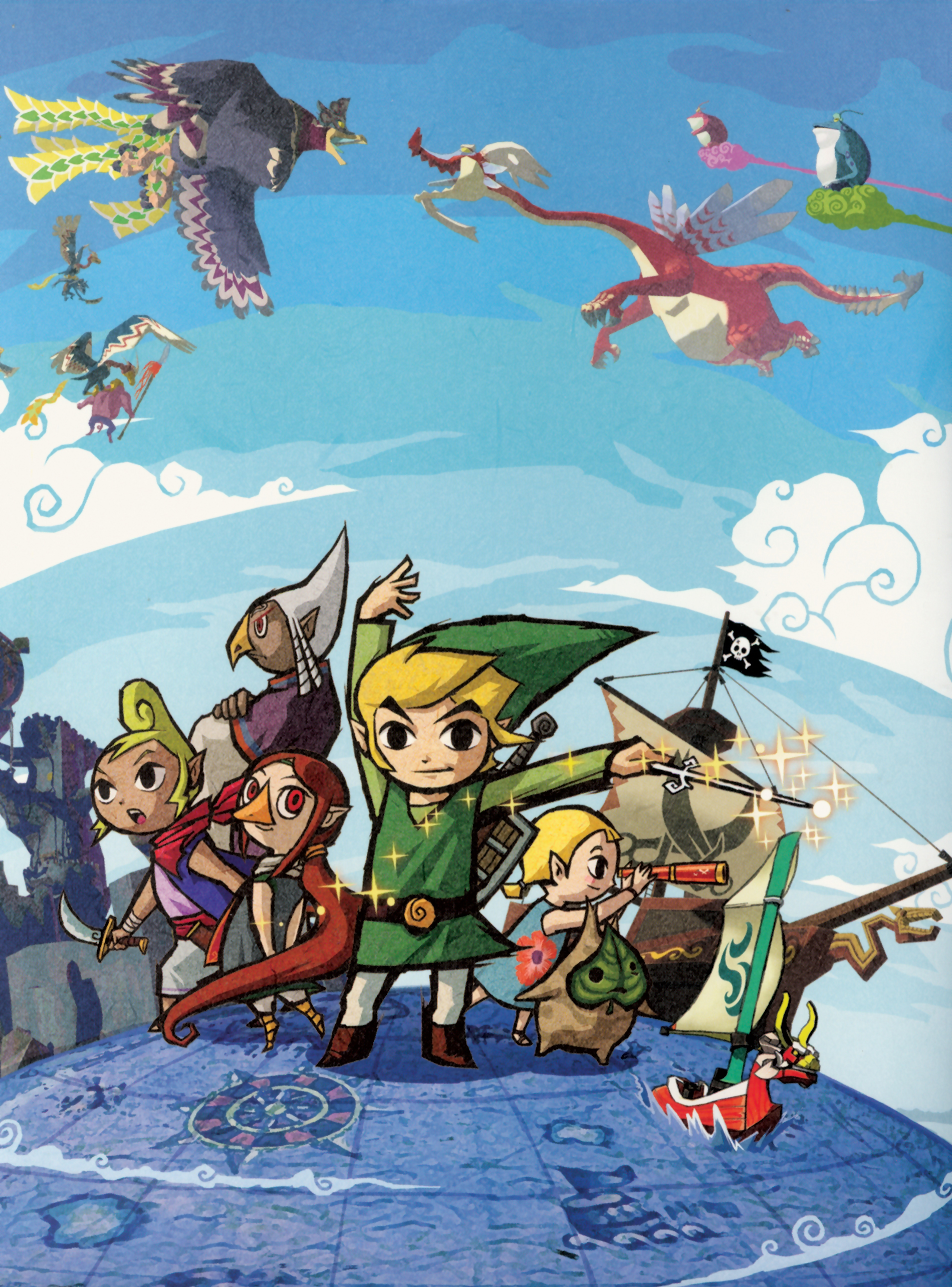 The Legend Of Zelda The Wind Waker Zeldapedia Fandom Powered By