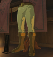 Breath of the Wild Enchanted Hylian Trousers (Kakariko Village)