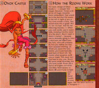 Mapa del Castillo de Onox guía OoS