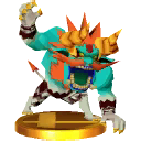 Super Smash Bros. for Nintendo 3DS Trophies Malladus (Render)