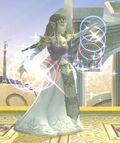 Transformación Zelda SSBB inicio