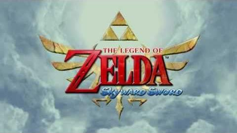 Zelda Skyward Sword Trailer