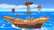 Bateau Pirate de Tetra SSB Wii U