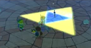 Master Sword in Earth Temple