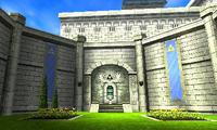 Cour de Zelda OoT3D