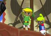 Link's Departure from Outset Island