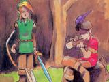 Niño flautista