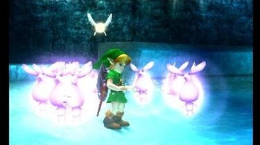 The Legend of Zelda Majora's Mask 3D - Great Bay Temple Stray Fairy Locations