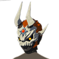 BotW Dark Armor (The Champion' Ballad DLC) Phantom Ganon Skull (Icon).png