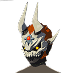 BotW Dark Armor (The Champion' Ballad DLC) Phantom Ganon Skull (Icon)