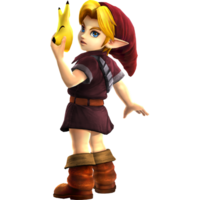 Hyrule Warriors Legends Young Link Standard Outfit (Grand Travel - Alfonzo Recolor)