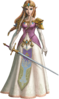 Princesse Zelda Artwork TPHD