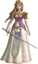 Princesse Zelda Artwork TPHD