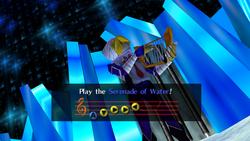 Sheik Serenata Agua OoT
