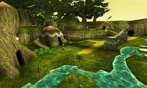 Village Kokiri OOT3D