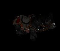 Hyrule Warriors Gerudo Stallion Ganondorf's Steed (Model Render)