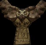 Statue de Hibou activée (Majora's Mask)